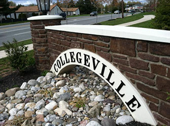 Collegeville PA Entrance Sign