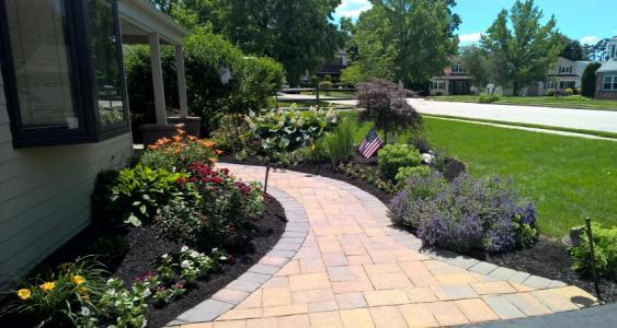 Nothing creates more curb appeal than a well-designed front walkway.