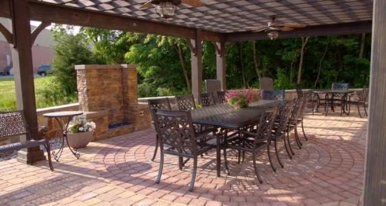 Pottstown patio design.   Patios designs are limitless.