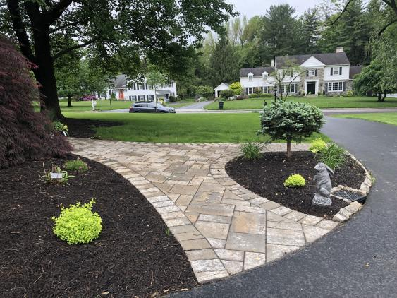 A designer can offer ideas for a new walkway that you may not have imagined.