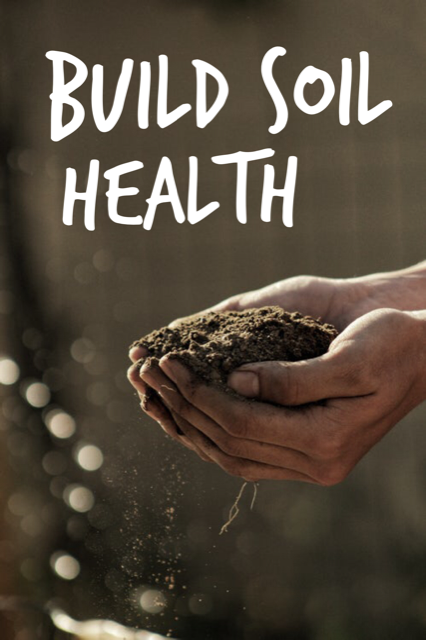 Most soil in Montgomery and Chester Counties lack adequate nutrients.