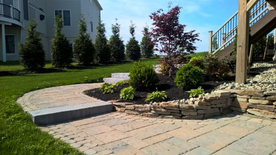 Phoenixville installation using Techo-Bloc Blue 60