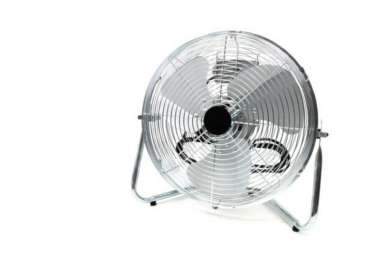 Mosquitoes are weak flyers so a fan will blow them away from you.