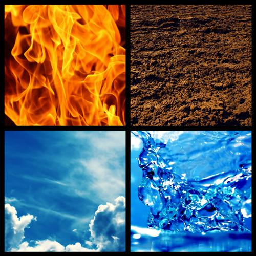 Fire, Water, Earth and Air are helpful in restoring balance in your life.  Photo credit: Lifesalonspa.com
