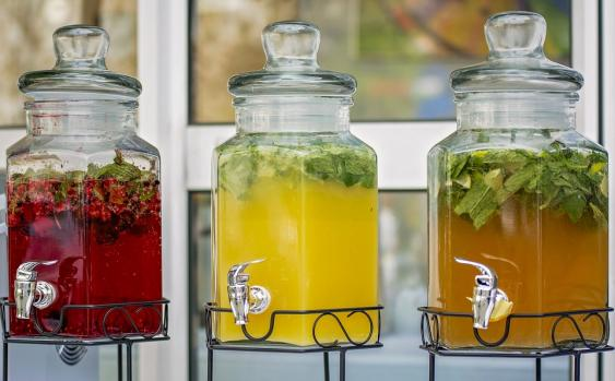 Enjoy the herbs you grow in  your favorite drinks.