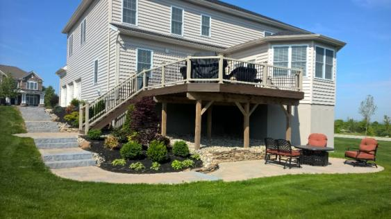 Patio Design and Walkway in Phoenixville, PA