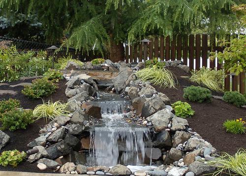 Pondless Waterfalls Whitehouse Landscaping - Backyard pondless waterfalls