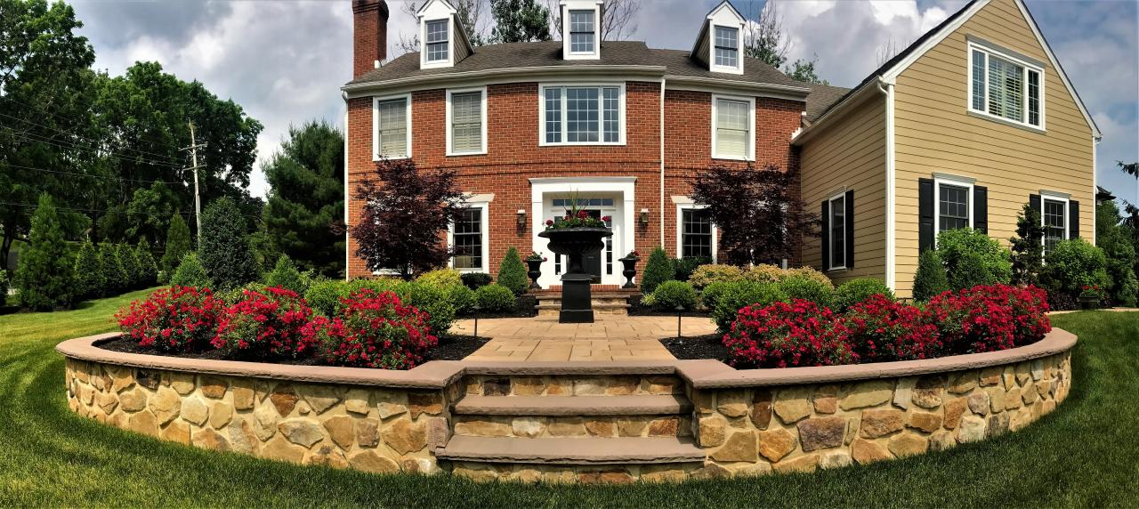Front Yard Landscape Design For Your Montgomery Or Chester County