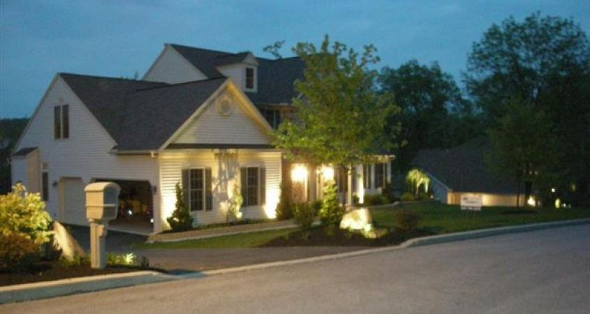 Outdoor lighting makes a big difference whitehouse landscaping landscape lighting installation in birdsboro pa aloadofball Choice Image