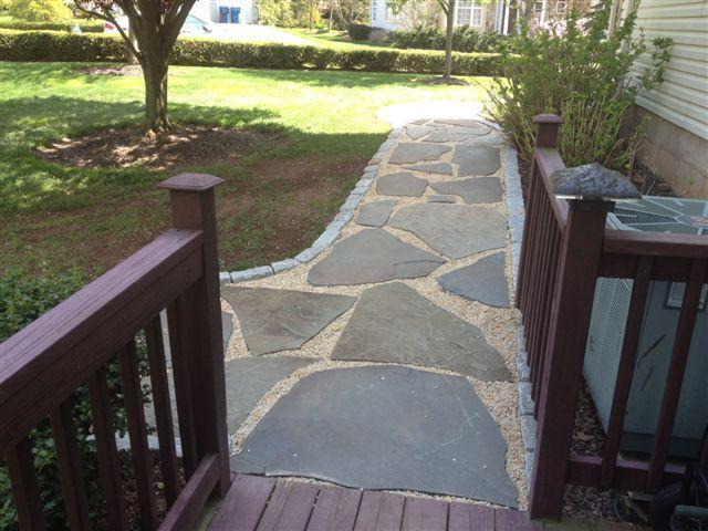 Walkways Portfolio Whitehouse Landscaping
