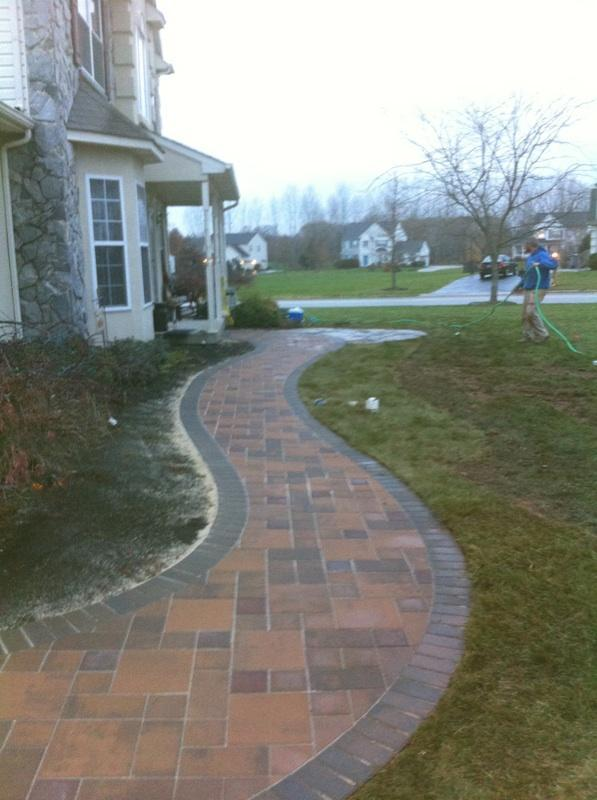 Designing A Front Walkway Whitehouse Landscaping