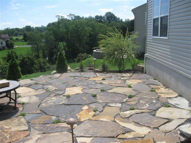 Patios Portfolio Whitehouse Landscaping
