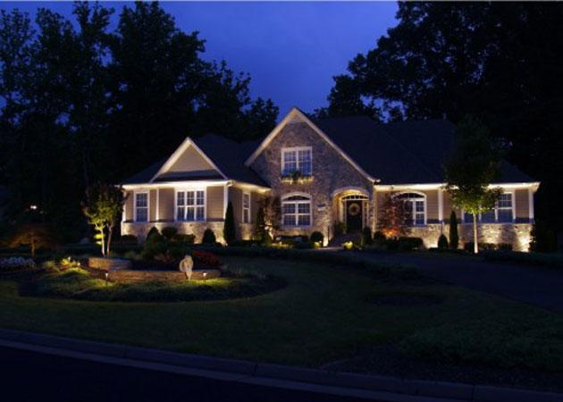 outdoor lighting accents your home whitehouse landscaping