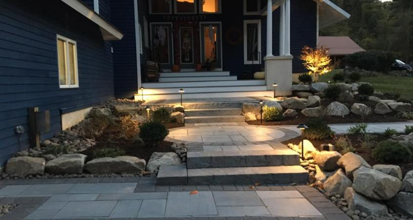 Patio paver walkway in Spring City, PA