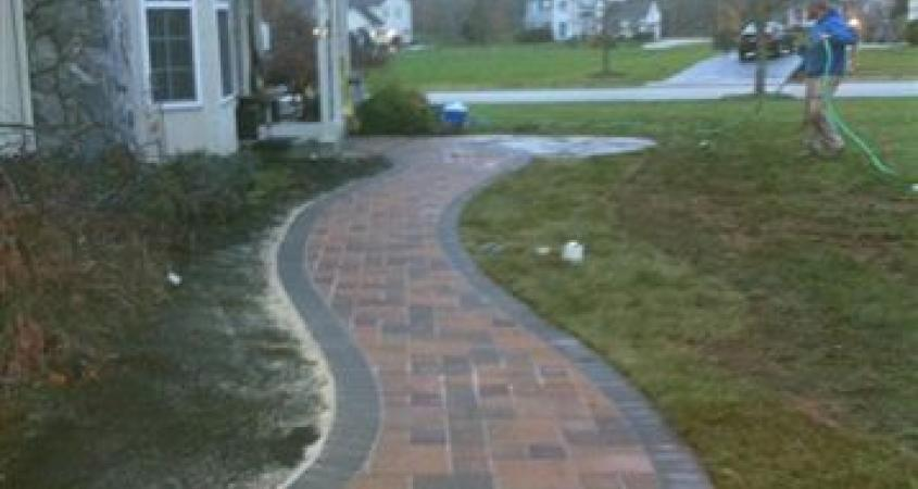 Walkways Portfolio Whitehouse Landscaping
