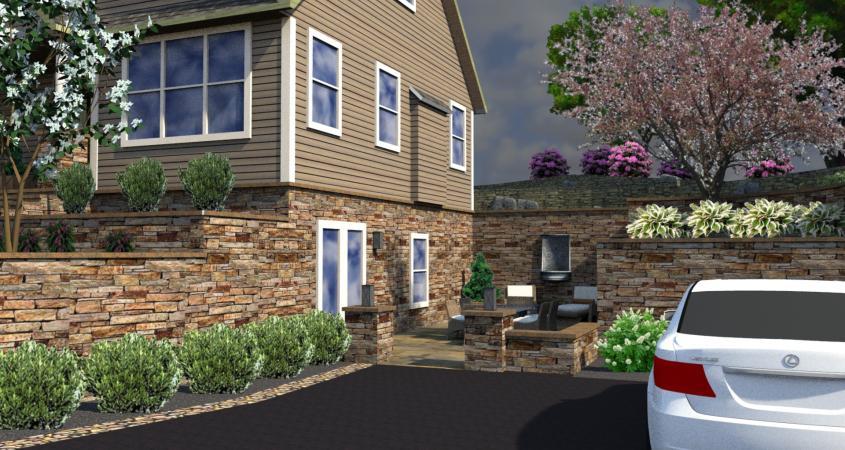 3D landscape design Boyertown, Pa