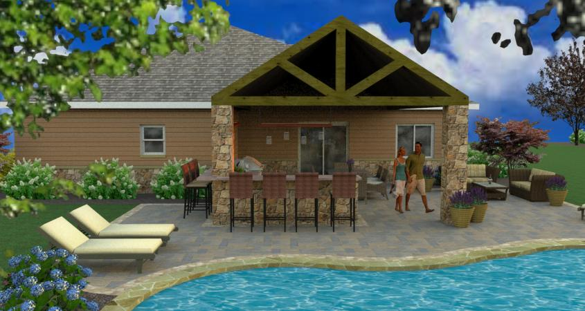 3d pool design whitehouse landscaping for 3d pool design software free download