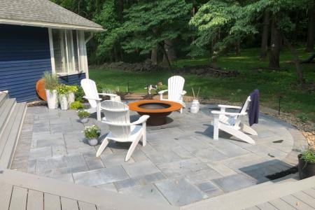 Spring City paver patio
