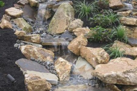 Waterfall Closeup, Malvern