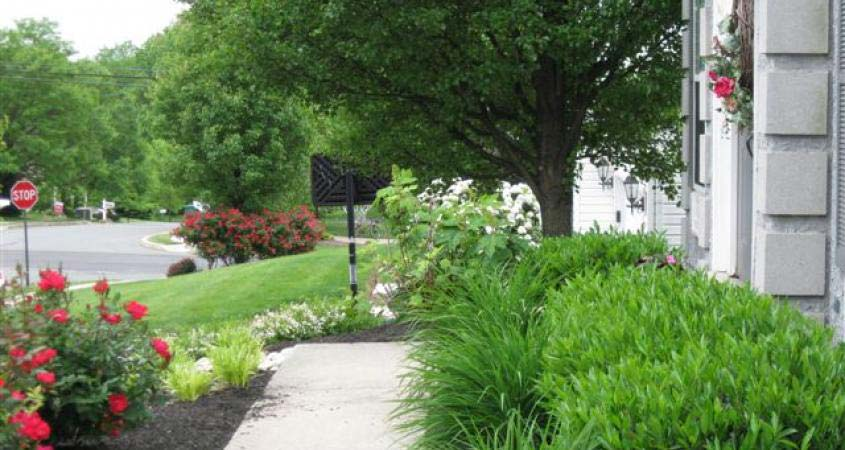 Landscaping installation in Royersford, PA