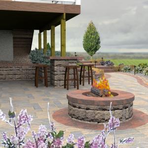 3D Landscape Design Example