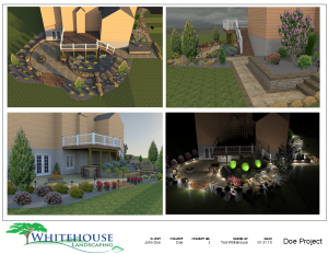 3D/2D landscape design