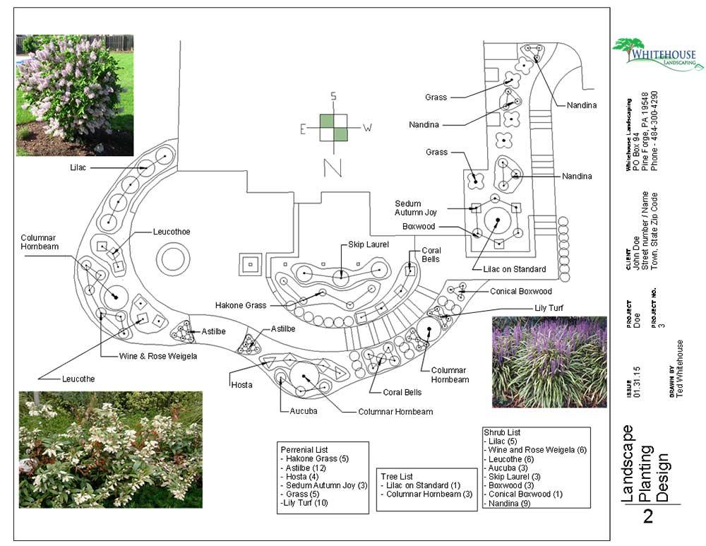 Landscape Design Options Whitehouse Landscaping