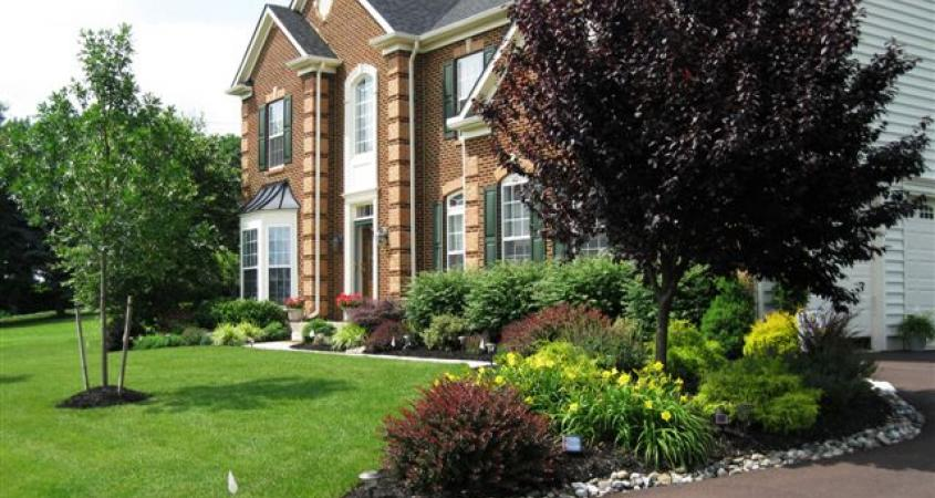 Landscape design in Chester Springs, PA