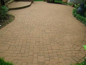 Paver, Brick Concrete Cleaning and Sealing