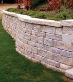 Retaining Walls are created by hardscape contractors