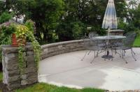 Retaining Walls are installed by landscaping companies